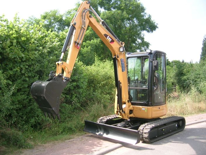 Minibagger Caterpillar 304D CR